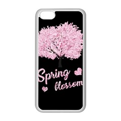 Spring Blossom  Apple Iphone 5c Seamless Case (white)