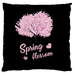 Spring Blossom  Standard Flano Cushion Case (one Side)