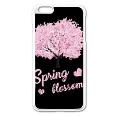 Spring Blossom  Apple Iphone 6 Plus/6s Plus Enamel White Case by Valentinaart