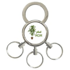 Plant Mom 3 Ring Key Chains by Valentinaart