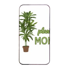 Plant Mom Apple Iphone 4/4s Seamless Case (black) by Valentinaart