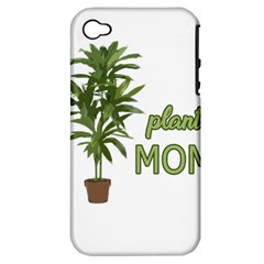Plant Mom Apple Iphone 4/4s Hardshell Case (pc+silicone)