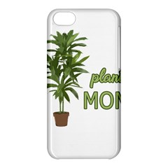 Plant Mom Apple Iphone 5c Hardshell Case by Valentinaart