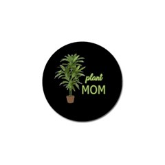 Plant Mom Golf Ball Marker by Valentinaart