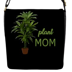 Plant Mom Flap Messenger Bag (s)
