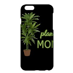 Plant Mom Apple Iphone 6 Plus/6s Plus Hardshell Case by Valentinaart