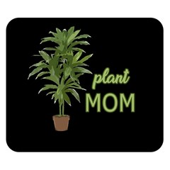 Plant Mom Double Sided Flano Blanket (small)