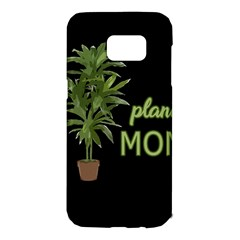 Plant Mom Samsung Galaxy S7 Edge Hardshell Case by Valentinaart