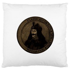 Count Vlad Dracula Large Cushion Case (two Sides) by Valentinaart