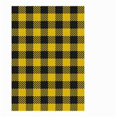 Plaid Pattern Small Garden Flag (two Sides) by ValentinaDesign