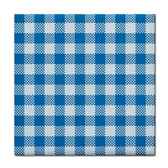 Plaid Pattern Tile Coasters by ValentinaDesign