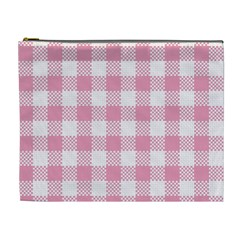 Plaid Pattern Cosmetic Bag (xl)