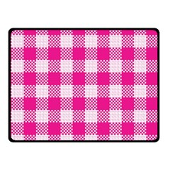 Plaid Pattern Fleece Blanket (small) by ValentinaDesign