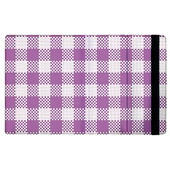 Plaid Pattern Apple Ipad 2 Flip Case by ValentinaDesign