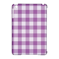 Plaid Pattern Apple Ipad Mini Hardshell Case (compatible With Smart Cover) by ValentinaDesign