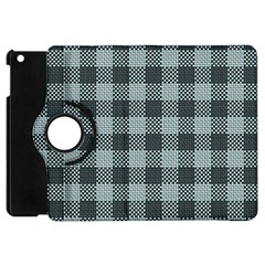 Plaid Pattern Apple Ipad Mini Flip 360 Case by ValentinaDesign