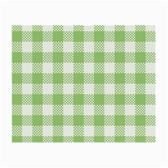 Plaid Pattern Small Glasses Cloth (2 Side) by ValentinaDesign