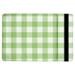 Plaid Pattern Ipad Air Flip by ValentinaDesign