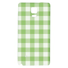 Plaid Pattern Galaxy Note 4 Back Case by ValentinaDesign