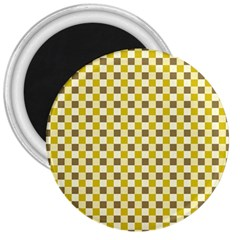 Plaid Pattern 3  Magnets