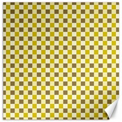 Plaid Pattern Canvas 16  X 16   by ValentinaDesign