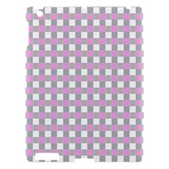 Plaid Pattern Apple Ipad 3/4 Hardshell Case by ValentinaDesign