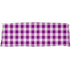 Plaid Pattern Body Pillow Case (dakimakura) by ValentinaDesign