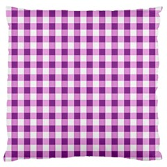 Plaid Pattern Large Cushion Case (one Side) by ValentinaDesign