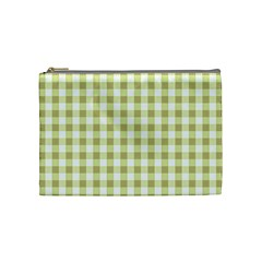 Plaid Pattern Cosmetic Bag (medium)  by ValentinaDesign