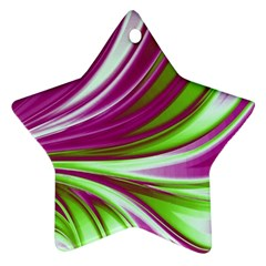 Colors Star Ornament (two Sides) by ValentinaDesign