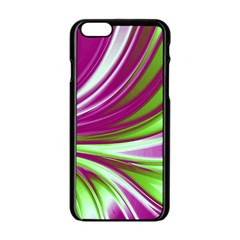 Colors Apple Iphone 6/6s Black Enamel Case by ValentinaDesign