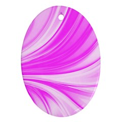 Colors Oval Ornament (two Sides) by ValentinaDesign