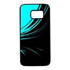 Colors Samsung Galaxy S7 Black Seamless Case by ValentinaDesign