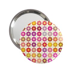 Multicolored Floral Pattern 2 25  Handbag Mirrors by linceazul