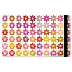 Multicolored Floral Pattern Apple Ipad 3/4 Flip Case by linceazul