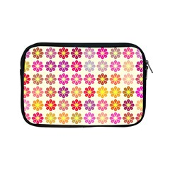 Multicolored Floral Pattern Apple Ipad Mini Zipper Cases by linceazul