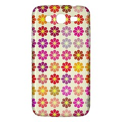 Multicolored Floral Pattern Samsung Galaxy Mega 5 8 I9152 Hardshell Case  by linceazul