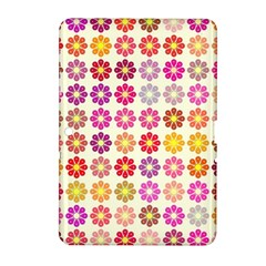 Multicolored Floral Pattern Samsung Galaxy Tab 2 (10 1 ) P5100 Hardshell Case  by linceazul