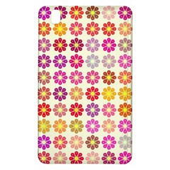 Multicolored Floral Pattern Samsung Galaxy Tab Pro 8 4 Hardshell Case by linceazul