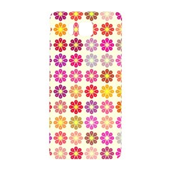 Multicolored Floral Pattern Samsung Galaxy Alpha Hardshell Back Case