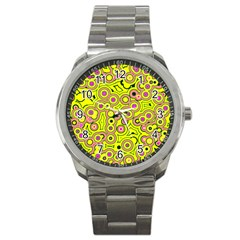 Bubble Fun 17d Sport Metal Watch by MoreColorsinLife
