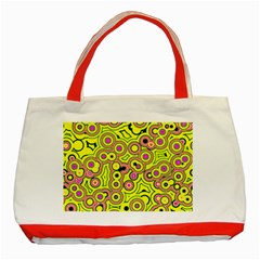 Bubble Fun 17d Classic Tote Bag (red) by MoreColorsinLife
