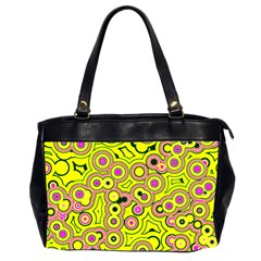 Bubble Fun 17d Office Handbags (2 Sides)  by MoreColorsinLife