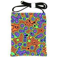 Bubble Fun 17a Shoulder Sling Bags by MoreColorsinLife