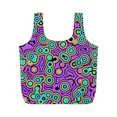Bubble Fun 17e Full Print Recycle Bags (m)  by MoreColorsinLife