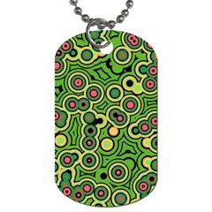 Bubble Fun 17c Dog Tag (two Sides) by MoreColorsinLife