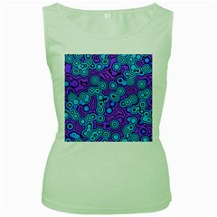 Bubble Fun 17f Women s Green Tank Top by MoreColorsinLife