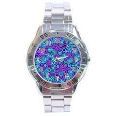 Bubble Fun 17f Stainless Steel Analogue Watch by MoreColorsinLife