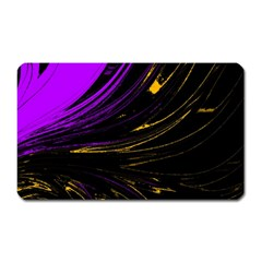 Colors Magnet (rectangular) by ValentinaDesign