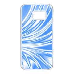 Colors Samsung Galaxy S7 White Seamless Case by ValentinaDesign